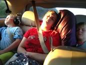 Long Car Trips!!