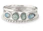 MIMI STACKABLE BAND RINGS S7: £19