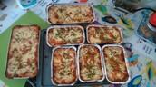 Beef/Chicken lasagna