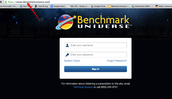 Are You Having Trouble Logging Onto Benchmark Universe?
