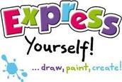 Because I love to express myself through ART!