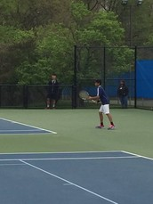Congratulations to Boys Tennis Coach Albert Paulsson and Arjun Krishnan for his run to the MCT Semis!