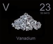 Vanadium on the Periodic Table