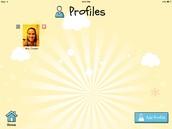 Add Profile Button on Bottom Right