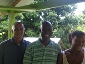 Pastor Julian Cherry of St. Lucia