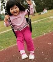 Child Swinging!