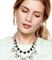 The Lila Necklace- stunning!!! paired with the Somervell necklace.