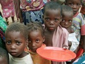 A plate of food can save a child's life