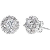 Glint Flower CZ Studs $19 SOLD (Laurie Moyer)