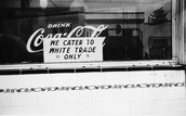 Shortly after slavery was abolished, there was much struggle for black people's rights in the 1950's and 60's.