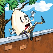 Humpty Dumpty falls off of a wall