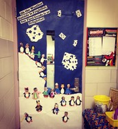 Our Holiday Door!