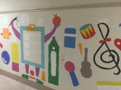 WES ART CLUB TAKES OVER THE HALLS