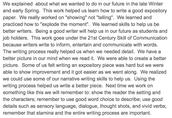 Communication Reflection-4th Grade
