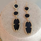 Allegra Earrings (feather weight) - SOLD