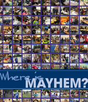 """Where is Mayhem"" page"