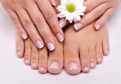 Esmaltado Permanente y embellecimiento de pies