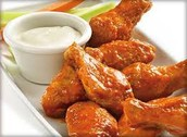 NBE Dining for Dollars at Wings Etc