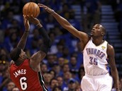 Kevin Durant & Labron James
