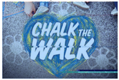 MONDAY Chalk the Walk!