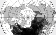 Ash Cloud in the Air Space