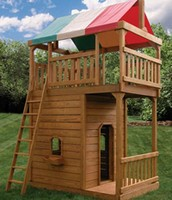 Tower play set