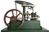 The steam engine in stores