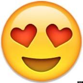 Heart Eye Emoji