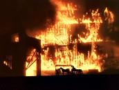 Dramatic Burning of Atlanta
