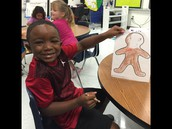 All smiles for Gingerbread Man day!
