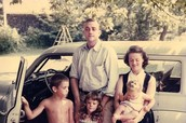 Vonnegut's young family