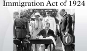 1924 immigration