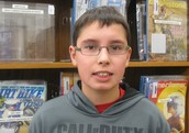 Nicholas Withaeger, 8th grader