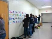 Ms. Donovan's Graphic Design Class