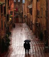 Maybe I can't stop the downpour but I will always join you for a walk in the rain