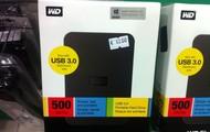 Hard disk usb 3.0 Western Digital 500GB