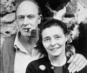 Roald and Patricia Dahl
