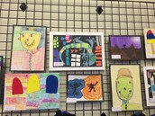 Library Literacy Art Show