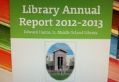 What Happens in the Library Doesn't Have to Stay in the Library! Start Planning Your Annual Report Now!