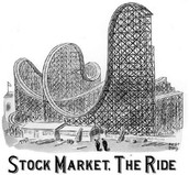a cartoon regarding the recent stock market crash