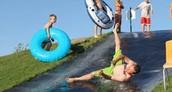 Homemade water slide!