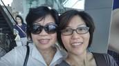 My mum and I...