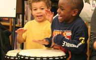 Drumming is fun!
