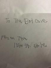 The Bat Cave has a New...errrr...Student....