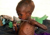 People die every day because of hunger.