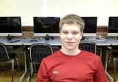 Look at my red shirt!