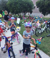 Scenes from the 2016 Bike Rodeo!
