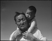 Manzanar And is 4 Year Old Child