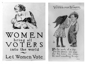 Women's Rights to Vote Posters