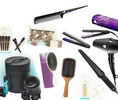 a professional and official kit a hair kit